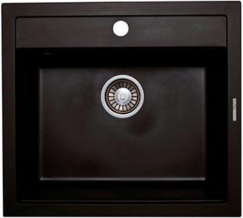 Кухонная мойка LAVA Q.2 (LAVA чёрный металлик) цена 2017