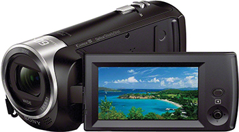 Цифровая видеокамера Sony HDR-CX 405 видеокамера sony hdr cx405b black 30x zoom 9 2mp cmos 2 7 os avchd mp4 [hdrcx405b cel]