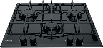 Встраиваемая газовая варочная панель Hotpoint-Ariston PCN 642 /HA(BK) цена и фото