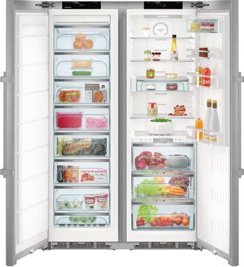 лучшая цена Холодильник Side by Side Liebherr SBSes 8663-20