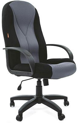 цена на Офисное кресло Chairman 785 TW-11 черный + TW-12 серая N