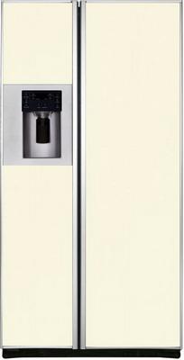 Холодильник Side by Side Iomabe ORE 24 CGFFKB 1014 бежевое стекло холодильник side by side iomabe ore 24 vghfnm черный