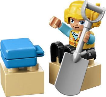 Конструктор Lego DUPLO Town: Железнодорожный мост 10872