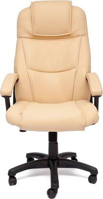 Фото - Офисное кресло Tetchair BERGAMO (кож/зам Бежевый PU C 36-34) кресло офисное tetchair поло polo доступные цвета обивки искусств чёрная кожа