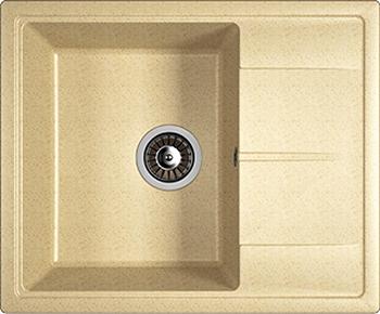 Кухонная мойка DrGans НИКА 580 цвет дюна кухонная мойка drgans габи 1015х510 x 217 цвет дюна
