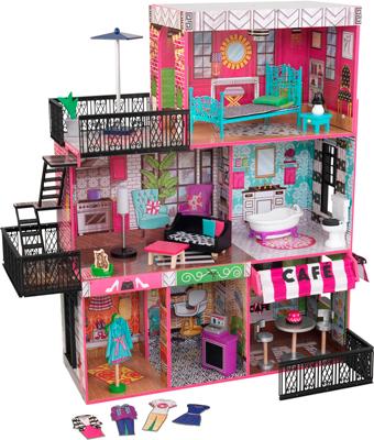 Кукольный дом KidKraft ''Бруклинский Лофт'' 65922_KE келлер г папазан дж хочу совершить прорыв удивительно простой закон феноменального успеха