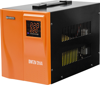 Стабилизатор напряжения Daewoo Power Products DW-TZM2kVA стабилизатор напряжения daewoo power products dw tzm1kva