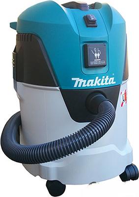 Строительный пылесос Makita VC 2512 L пылесос строительный makita vc3011l 1000 вт