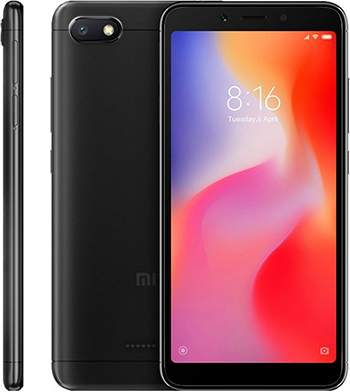 Смартфон Xiaomi Redmi 6A 2/16Gb черный смартфон xiaomi redmi 6a 2 16gb black