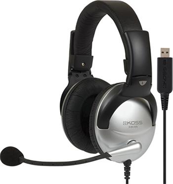 Компьютерная гарнитура KOSS SB-45 USB koss gmr 545 air usb черный