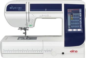 Швейно-вышивальная машина ELNA 860 eXpressive швейная машина elna excellence 680
