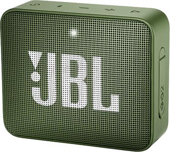 лучшая цена Портативная акустическая система JBL GO2 зеленый JBLGO2GRN
