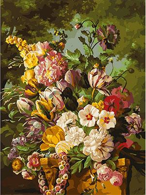 Живопись на холсте Белоснежка 30*40 см 265-AS Букет в саду белоснежка живопись на холсте 30 40 см детеныш леопарда