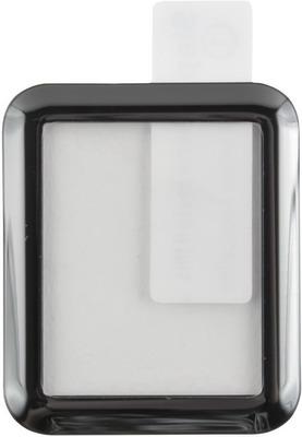 Защитное стекло Red Line Apple Watch (s4/s5)-44 mm Full screen (3D) tempered glass FULL GLUE черный с рамкой защитное стекло liberty project tempered glass с рамкой для apple iphone xs max черный