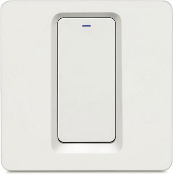 Фото - Wi-Fi выключатель одноканальный Hiper IoT Switch B01 белый (HDY-SB01) умный wi fi модуль выключатель hiper iot switch m02 белый hdy sm02