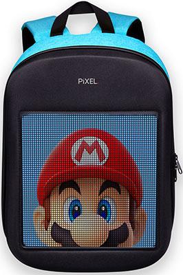 Рюкзак с LED-дисплеем Pixel ONE - BLUE SKY голубой (PXONEBS01)