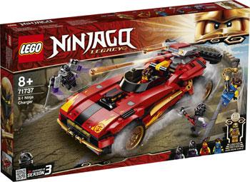Конструктор Lego Ninjago ''Ниндзя-перехватчик Х-1'' lego lego ninjago императорский храм безумия