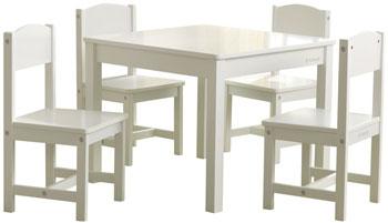 Набор детской мебели KidKraft Кантри: стол 4 стула недорого