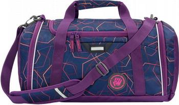 Фото - Сумка спортивная Coocazoo SporterPorter Laserbeam синий/фиолетовый сумка спортивная coocazoo sporterporter springman мятный