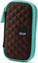 Сумка для фотокамеры Acme Made Fillmore Hard Case 100 коричневый/бирюза
