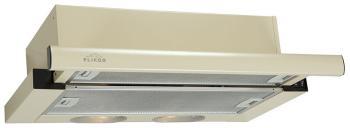 Вытяжка ELIKOR Интегра 50П-400-В2Л (КВ II М-400-50-250) крем/крем вытяжка встраиваемая elikor интегра 50п 400 в2л черный управление кнопочное 1 мотор [кв ii м 400 50 250]