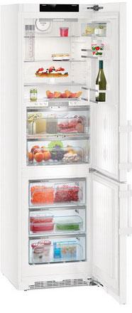 лучшая цена Двухкамерный холодильник Liebherr CBNP 4858-20