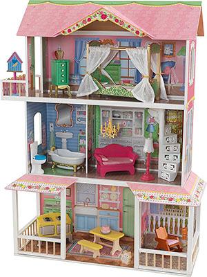 Кукольный дом для Барби KidKraft ''Карамельная Саванна'' 65851_KE кукольный дом с аксессуарами kidkraft современный таунхаус делюкс