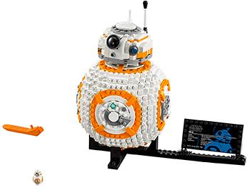 Конструктор Lego Конструктор LEGO Star Wars Дроид ВВ-8 75187 lego star wars вв 8 75187