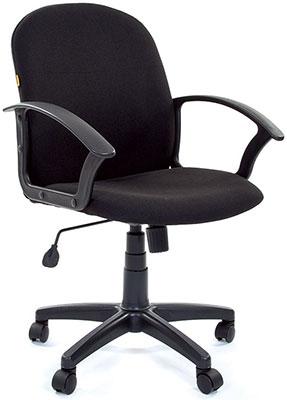 Офисное кресло Chairman 681 черный кресло chairman 681 с3 черный 1188132