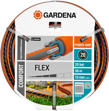 Шланг садовый Gardena FLEX 13 мм (1/2'') 50 м 18039-20 цена и фото