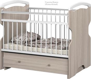 цены на Детская кроватка Sweet Baby Ofelia Frassino Bianco (Ясень белый)  в интернет-магазинах