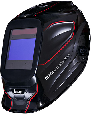 Маска сварщика FUBAG ''Хамелеон'' с регулирующимся фильтром BLITZ 9-13 Visor Black 38500 маска сварщика хамелеон fubag optima 9 13