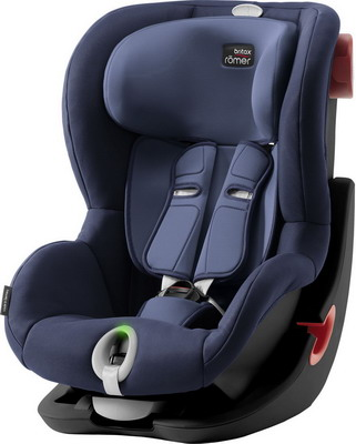Автокресло Britax Roemer King II LS Black Series Moonlight Blue Trendline 2000027843 автокресло britax romer king ii ls black series football edition highline