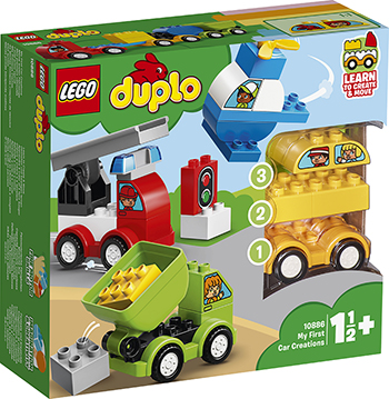 Конструктор Lego Мои первые машинки 10886 DUPLO My First my first world atlas