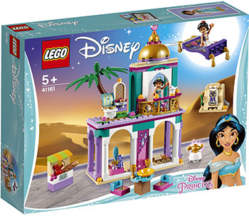 Конструктор Lego Приключения Аладдина и Жасмин во дворце 41161 Disney Princess цены онлайн