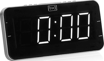Радиобудильник MAX CR-2904 W max cr 2905g black green радиобудильник