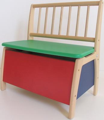 Скамья-сундук Geuther Bambino 2520 BT цветная столик игровой geuther bambino белый натуральный