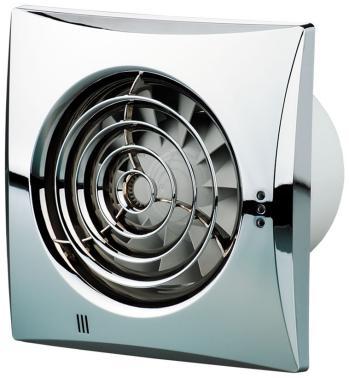 Вытяжной вентилятор Vents 100 Quiet хром вытяжной вентилятор vents 100 quiet слоновая кость