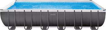 Бассейн Intex Ultra Frame 732х366х132 31805л 26368 intex бассейн каркасный ultra frame pool