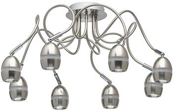 Люстра потолочная DeMarkt Этингер 704016108 64*0 5W LED 220 V фото
