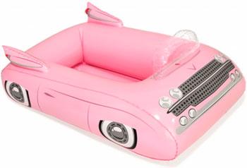 Надувной контейнер BestWay для охлаждения напитков Автомобиль 89х69см 43164 BW