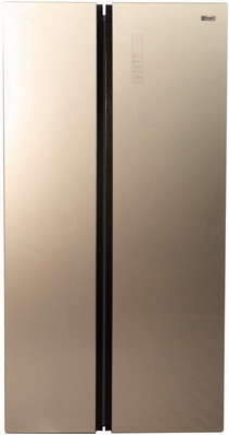 Холодильник Side by Side Zarget ZSS 615 BEG холодильник zarget zrs 65w