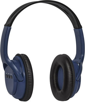 Фото - Беспроводные наушники Defender FreeMotion B 520 синий 63522 наушники defender freemotion b570 red серый bluetooth 63570
