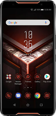Смартфон ASUS RoG Phone ZS600KL 128Gb 8Gb (90AZ01Q1-M00070) черный