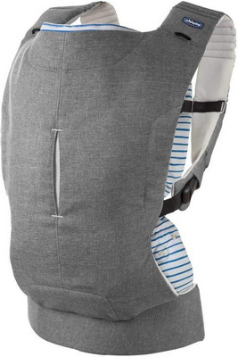 Рюкзак-кенгуру Chicco Myamaki Complete Grey Stripes