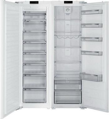 цена Встраиваемый холодильник Side by Side Jacky`s JLF BW 1770 онлайн в 2017 году