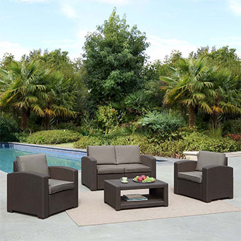 Комплект мебели Афина AFM-2017 B Dark brown
