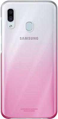Чехол (клип-кейс) Samsung A 30 (A 305) GradationCover pink EF-AA 305 CPEGRU samsung a