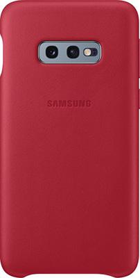 Чехол (клип-кейс) Samsung S 10 e (G 970) LeatherCover red EF-VG 970 LREGRU чехол клип кейс samsung s 10 e g 970 leathercover gray ef vg 970 ljegru