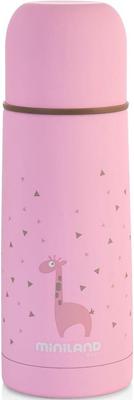 Детский термос для жидкостей Miniland Silky Thermos 350 мл розовый 89217 термос 350 мл fissman 9774